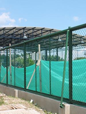 Mega Colegio Campo de la Cruz - Seguridad perimetral malla eslabonada